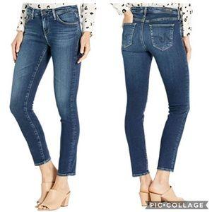 EUC AG mid rise The Prima Cigarette Leg Jeans